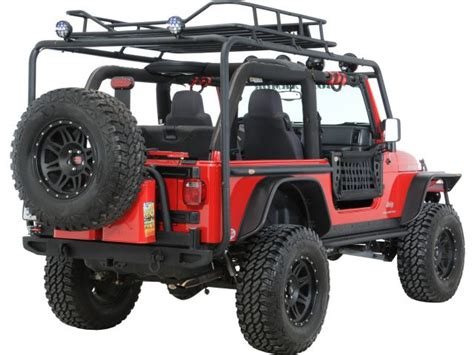 Jeep Tj Rack Armor Tj 6125 Armor Roof Rack Base Kit For 97
