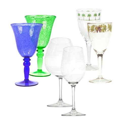Decorative Wine Glasses by Decorative Wine Glasses For Decorations