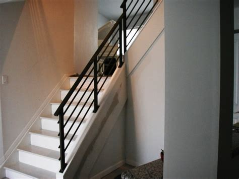 Black Staircase Banister by Modern Black Staircase Banister Home Design Exles