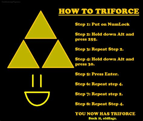 How To Meme A Photo - image 89498 newfags can t triforce know your meme