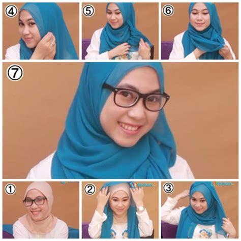 tutorial hijab ke sekolah tutorial hijab untuk ke kus kuliah 2 miulan store