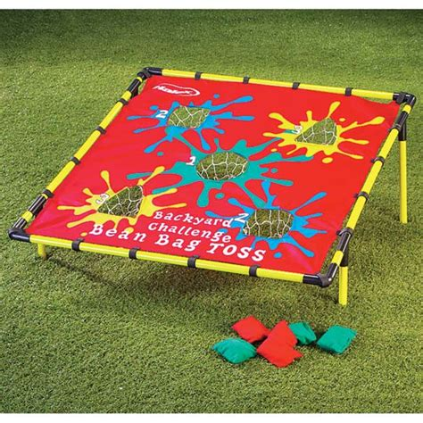 backyard bean bag toss game bean bag toss game bean bag toss lawn game miles kimball