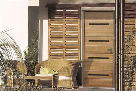 cuisine porte d entr 195 e bois moderne rion bois auvent