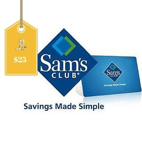 Does Sams Club Accept Walmart Gift Cards - sam s club one year membership 10 e gift card only 25 155 value new members only
