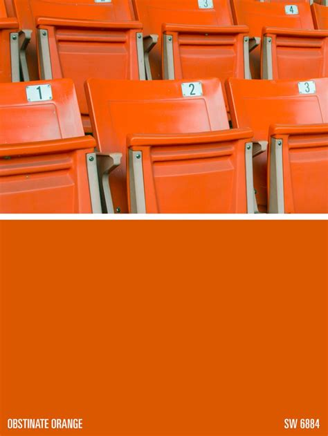 sherwin williams paint color obstinate orange sw 6628