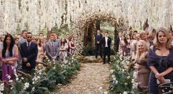 Enchanted forest wedding fein events