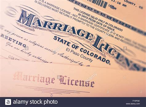 Marriage Records Usa Free Marriage License Issued In Colorado State United States