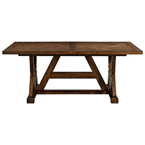 rectangular dining room tables with leaves broyhill furniture pieceworks rectangular dining table