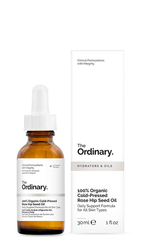 The Ordinary 100 Organic Cold Pressed Rosehip Seed 30ml The Ordinary 100 Organic Cold Pressed Hip Seed