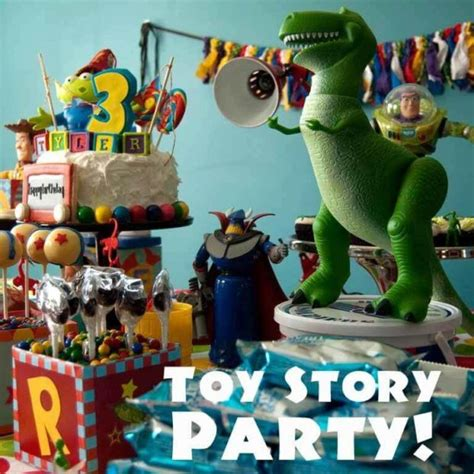 themes toy story 3 toy story birthday party spaceships and laser beams