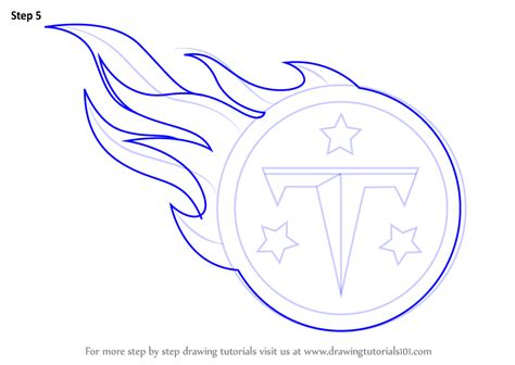 draw logo learn how to draw tennessee logo nfl step by step