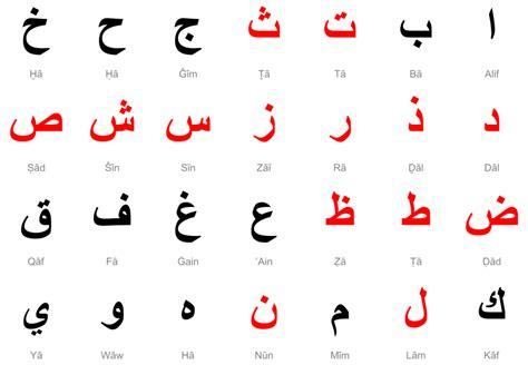 lettere in arabo alfabeto quaderno di arabo