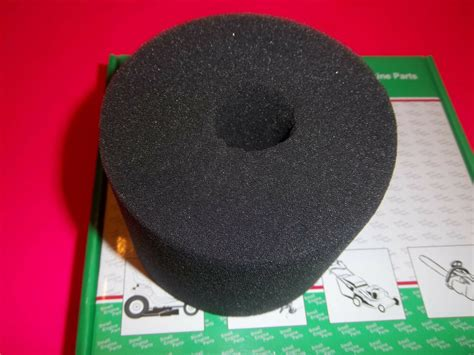 replacement briggs foam air filter fits  engines   ebay