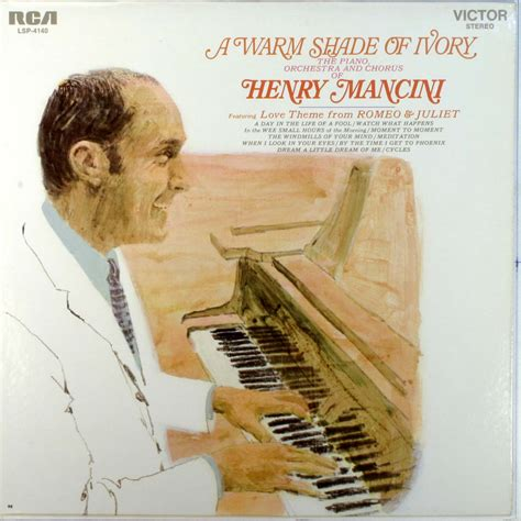 theme from romeo and juliet henry mancini henry mancini a warm shade of ivory records lps vinyl
