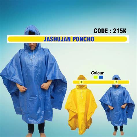 Jas Hujan Ponco jas hujan poncho code 215k jual lanyard jual tali