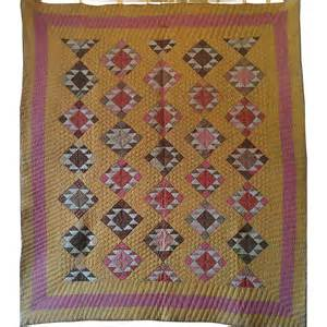 the anvil handmade antique quilt ca 1870 sold on ruby