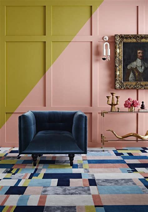 fashion meets interior design color block furniture