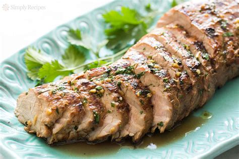 grilled ginger sesame pork tenderloin recipe