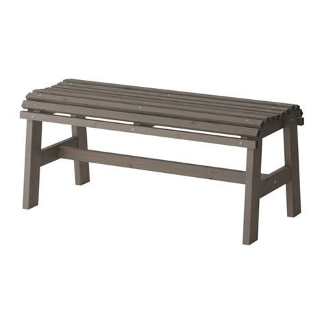 ikea wooden bench sunder 214 bench outdoor ikea