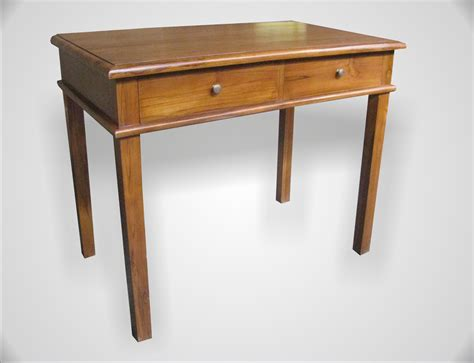 teak console table with drawers tore console table 2 drawers indoor teak furniture