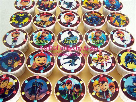 Topper Cupcake Boboiboy pin cupcakes edible image ben10 wedding birthday cupcake on