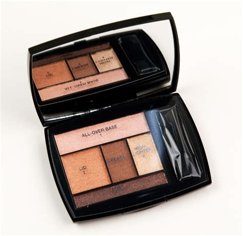 Lancome Summer 2007 Bronze Tropiques by Lancome Bronze Amour Eyeshadow Palette Review Photos