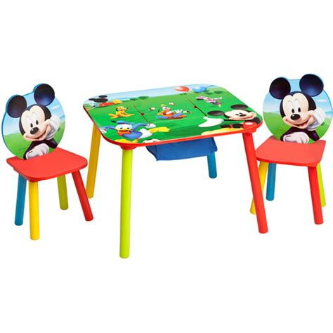 Disney Toddler Table And Chair Set