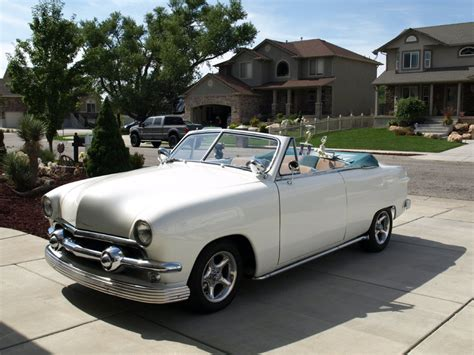 Galerry 1951 ford victoria custom convertible