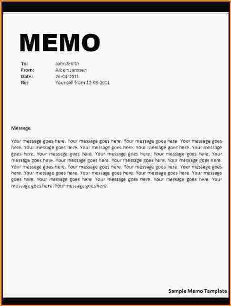 Sle Memo Schedule Memo To Staff Template 28 Images 8 Memo Templates Free Sle Exle Format 10 Best Images Of
