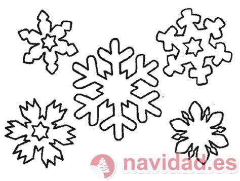 Plantilla Copos Navidad | plantilla copos de nieve para tu 225 rbol de navidad
