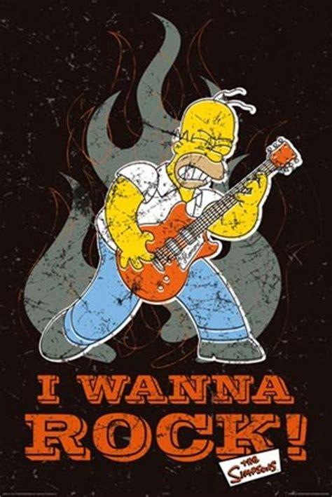 imagenes homero rockero homero simpson rockero taringa