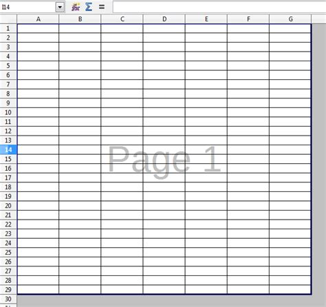 Printable Spreadsheet Paper by How Can I Get The Gridlines To Print On The Whole