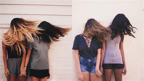 imagenes tumblr de amigas imitando fotos tumblr de amigas conversando com a lua