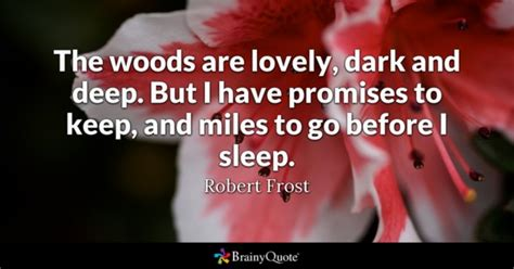 a promise to keep on the shore volume 5 books woods quotes brainyquote