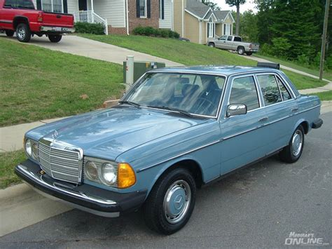 1982 mercedes 240d or the power of 80