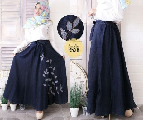 Overall Rok Payung W196 rok payung daun r528 baju style ootd