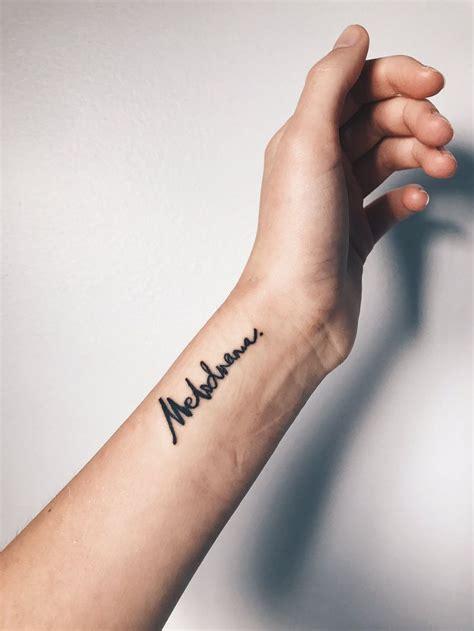 melodrama lorde tattoo wrist tattoo inspo script tat