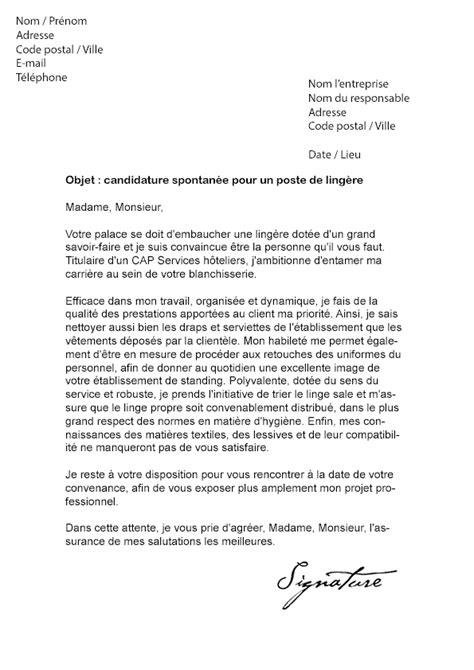 Exemple De Lettre De Motivation Hotel lettre de motivation 232 re grand h 244 tel mod 232 le de lettre