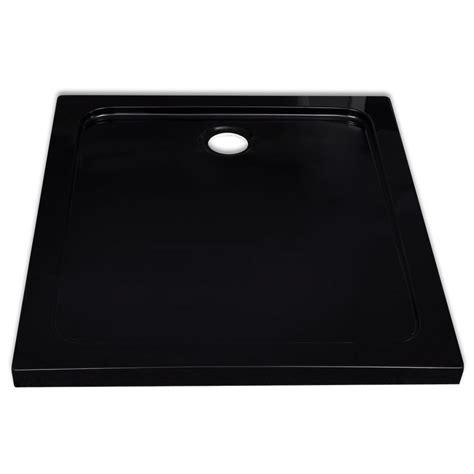 piatto doccia 90 x 80 articoli per piatto doccia rettangolare in abs nero 80 x