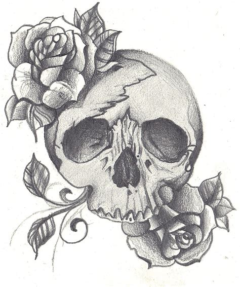 shaded skull tattoo designs taylerwillcoxillustration july 2011