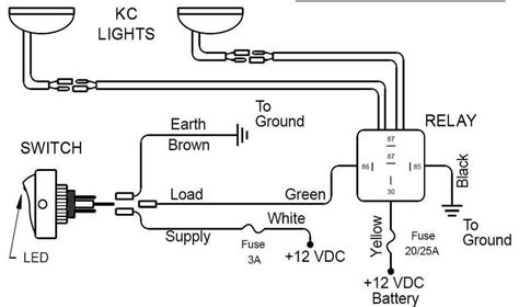 5 pole relay wiring diagram for lights 5 free engine