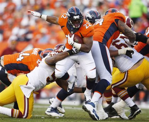 denver broncos c 21 broncos rb c j hopes to push montee
