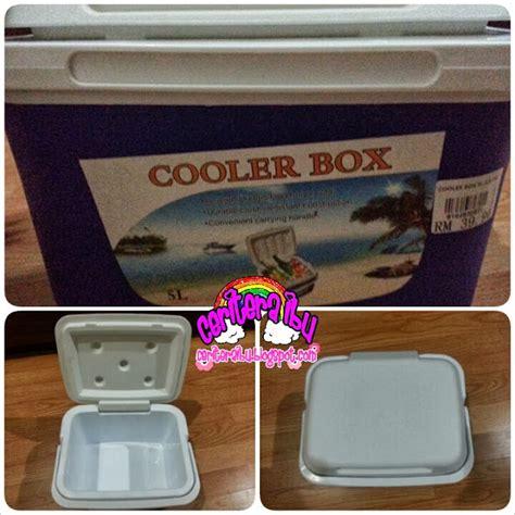 Freezer Box Kecil Baru cooler box baru untuk adik faris ceritera ibu
