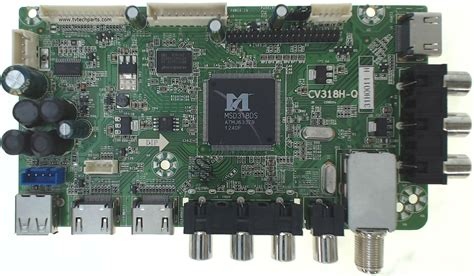 Westinghouse TV Model DW46F1Y1 Main Audio Video HDMI Tuner ... Westinghouse Tv Parts