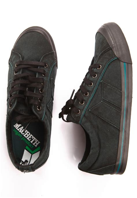 Macbeth Premium macbeth eliot premium black marine shoes impericon