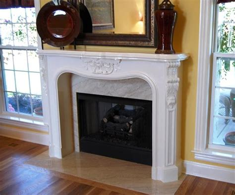 Cast Fireplace Mantels And Surrounds by Faux Fireplace Surround Neiltortorella