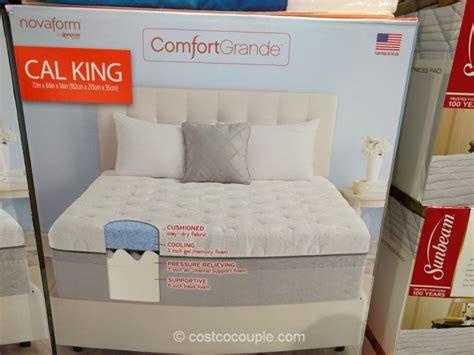 Foam Mattress Costco by Novaform Comfortgrande Gel Memory Foam Mattress