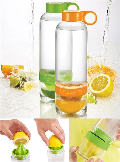 Bottle Citruz Zinger Infuse Water 10 cool and eco friendly reusable water bottles design swan