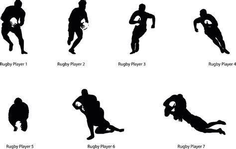 rugby player silhouette wall sticker  nutmeg notonthehighstreetcom