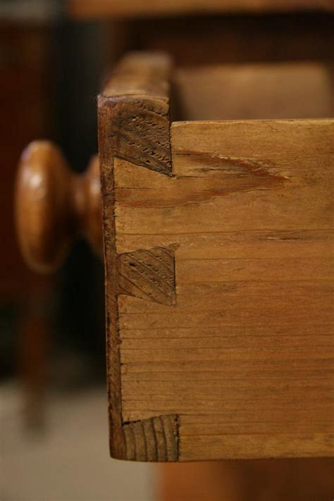 Handmade Dovetail Joints - dovetails a clue for dating antiques the harp gallery